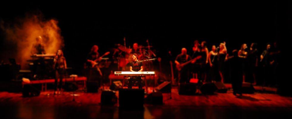 Banner concierto Javier Carracedo 2007